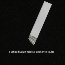 0.25 * 14 eyebrow tattoo needle Carving supercilium eyebrow needle Curved needle embroider eyebrow needle