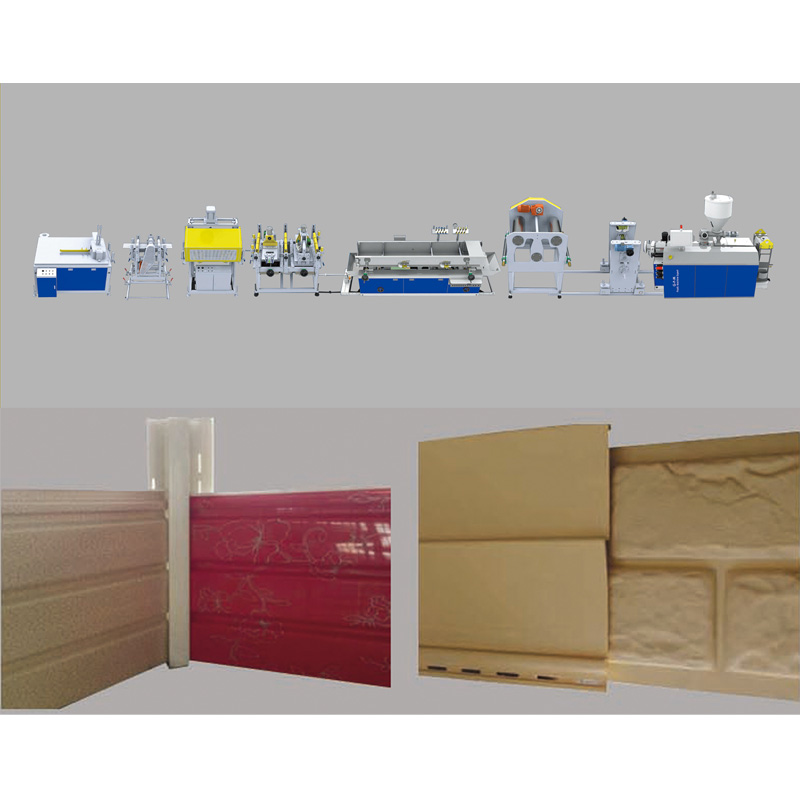PVC siding extrusion line