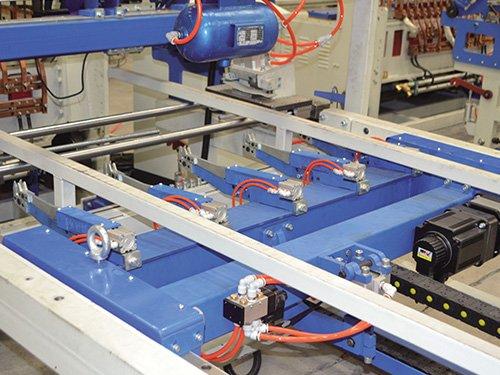 5 CNC Mesh Pulling Cart