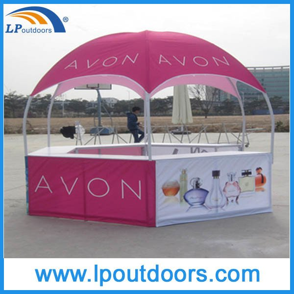 Dia3X2.6m Hexagon Dome Marquee Trade Show Kiosk Tent for Promotions
