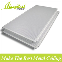 300*600 Foshan Cost Price Decoration Aluminum Clip in Ceiling Plate