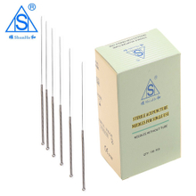 Steel Handle Acupuncture Needle without Tube