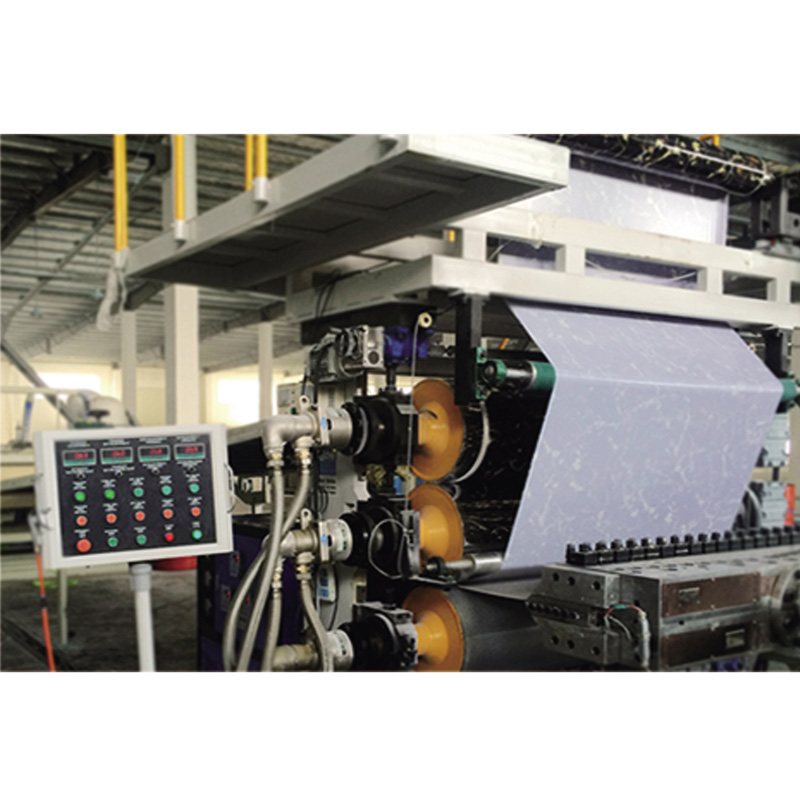PVC imitate marble extrusion production line