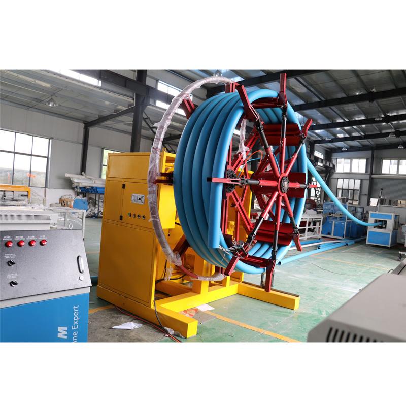 high quality pe pipe machinery