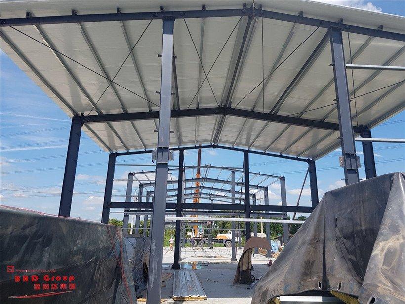 steel frame workshop in Thailand
