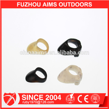 Aims fast delivery antlers archery thumb rings supplier for men