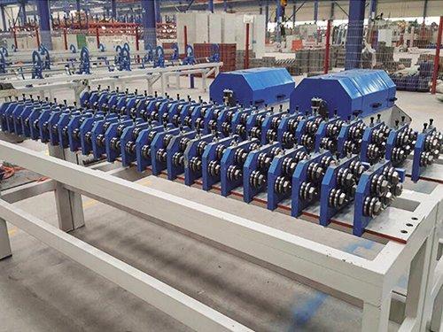 1 Line wire straightening roller