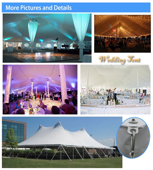 Cheap Easy Installation Pole Wedding Tent for Outdoor Enents