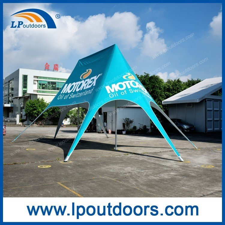 8X12m Outdoor Double Pole Star Shade Tent for Promotions