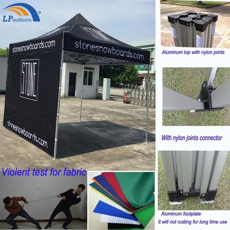 10X10′ Best Quality Outdoor Aluminum Folding Canopy For Promotions