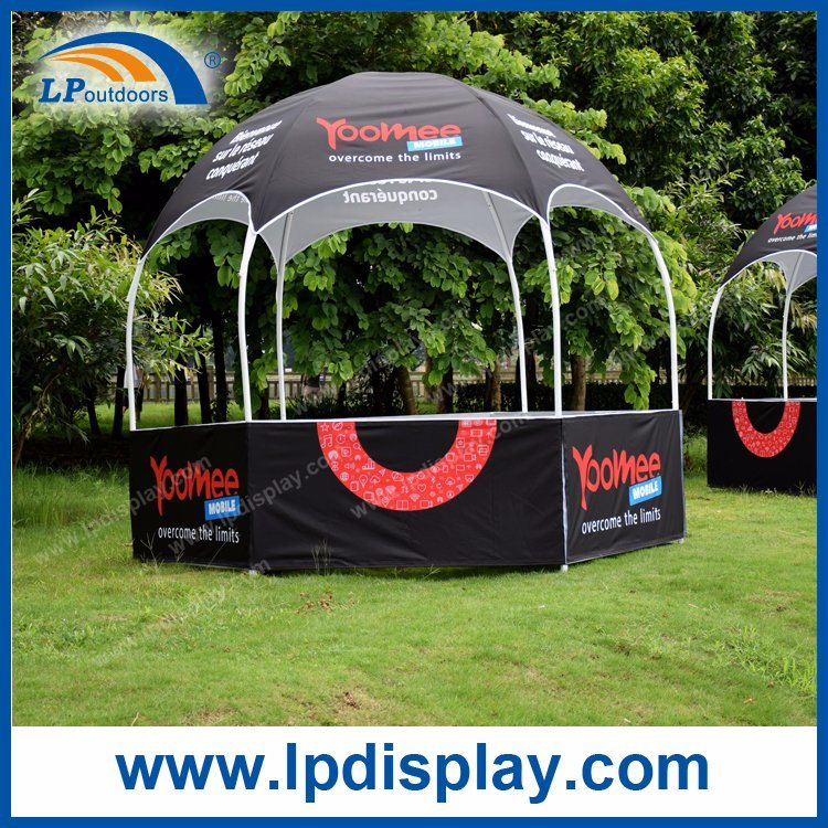 Dia3m Customs Printing Hexagon Dome Kiosk Tent for Trade Show