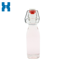 Wholesale Swing Top 250ml Mineral Water Glass Bottle