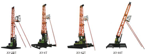 Light Weight Drilling Mast Integrated with Mineral Drilling Rig and Tower for Geological Exploration