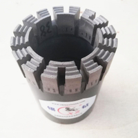 Wireline Impregnated Diamond Core PQ,HQ,NQ ,BQ,AQType Bits for Drilling