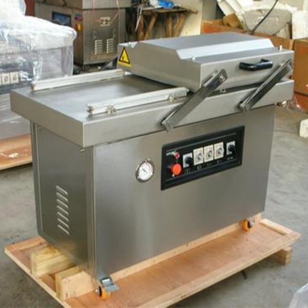 全自动双室型豆干真空包装机