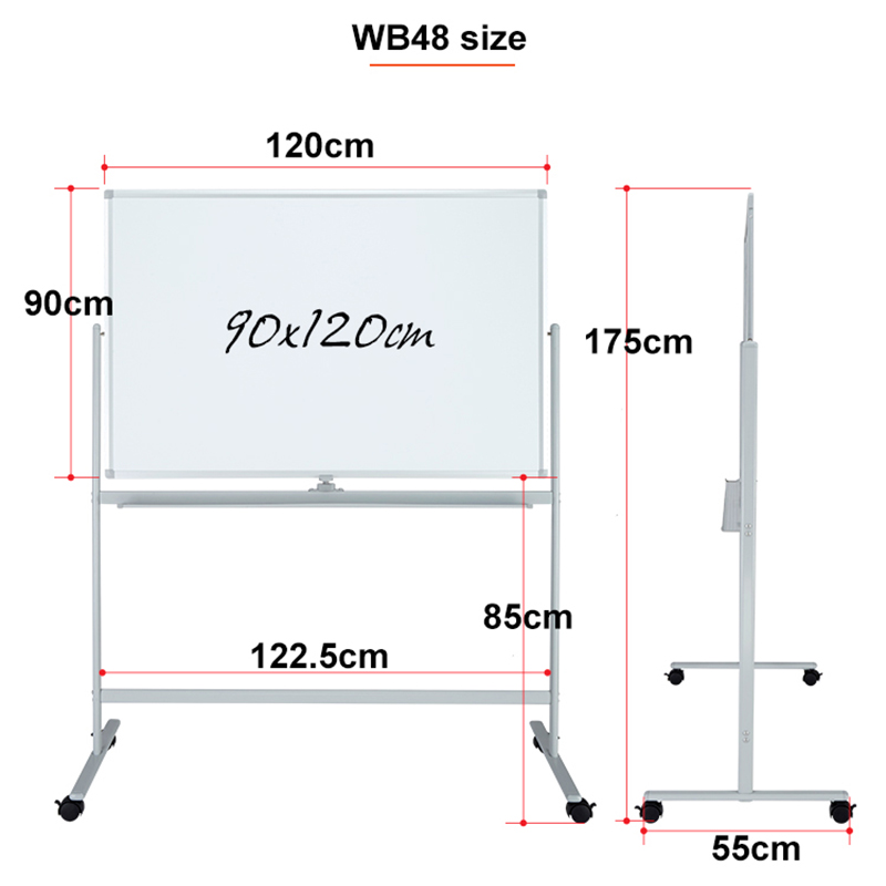 Magnetic Whiteboard stand 01
