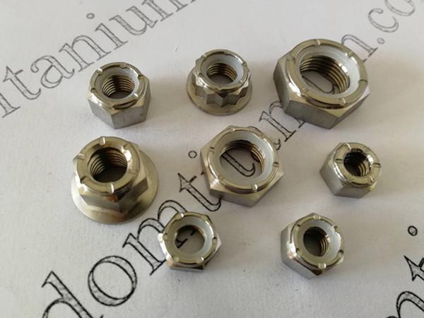 titanium nylock nuts