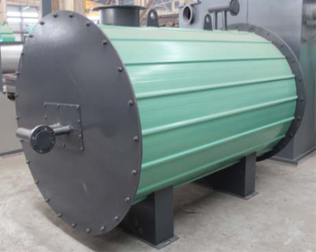 Hot Oil Boiler In Rubber Production Line