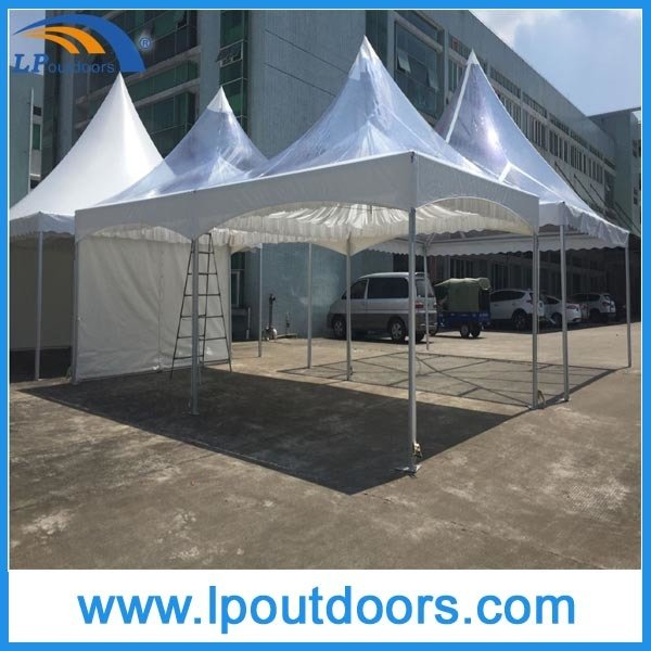4X8m Outdoor Aluminum Double Peak Marquee Tension Tent