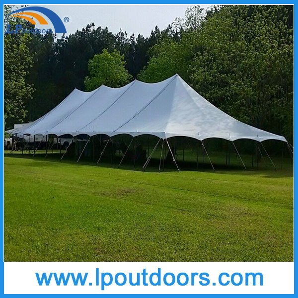 40X100' Outdoor Cheap Steel Frame High Peak Wedding Marquee Party Tent