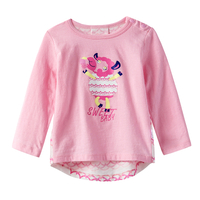 Girls'cartoon cotton Long Sleeves