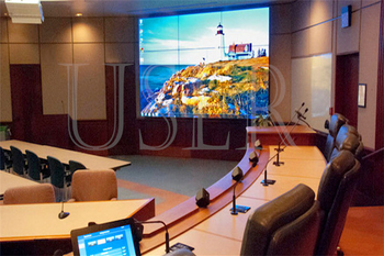 Philippine security conference room, 46inch lcd video wall, 3×3