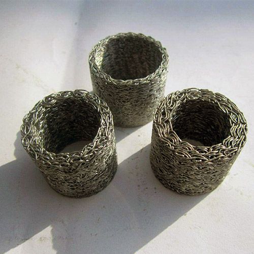 Stainless-steel-Knitted-Wire-Mesh