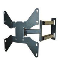 "DA-46 UL Listed VESA 400x400mm 23-55"" TV/Monitor Full-Motion Wall Mount"