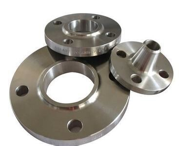 Male and female face titanium flanges