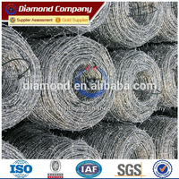 Professional Manufacturer Galvanized/PVC Coated Barbed Wire Factory