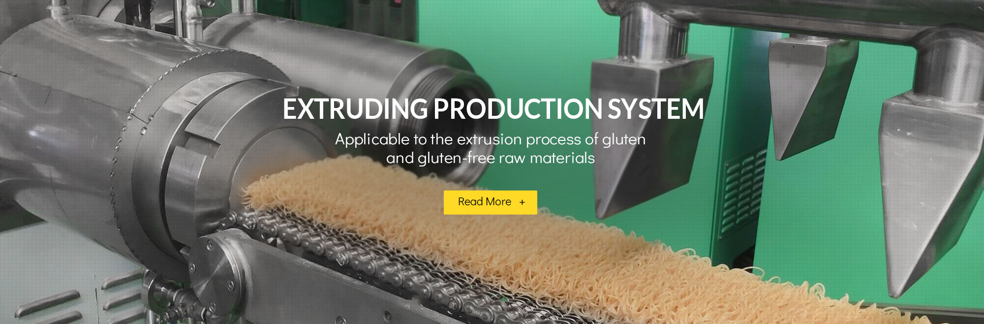 extruding noodle production line