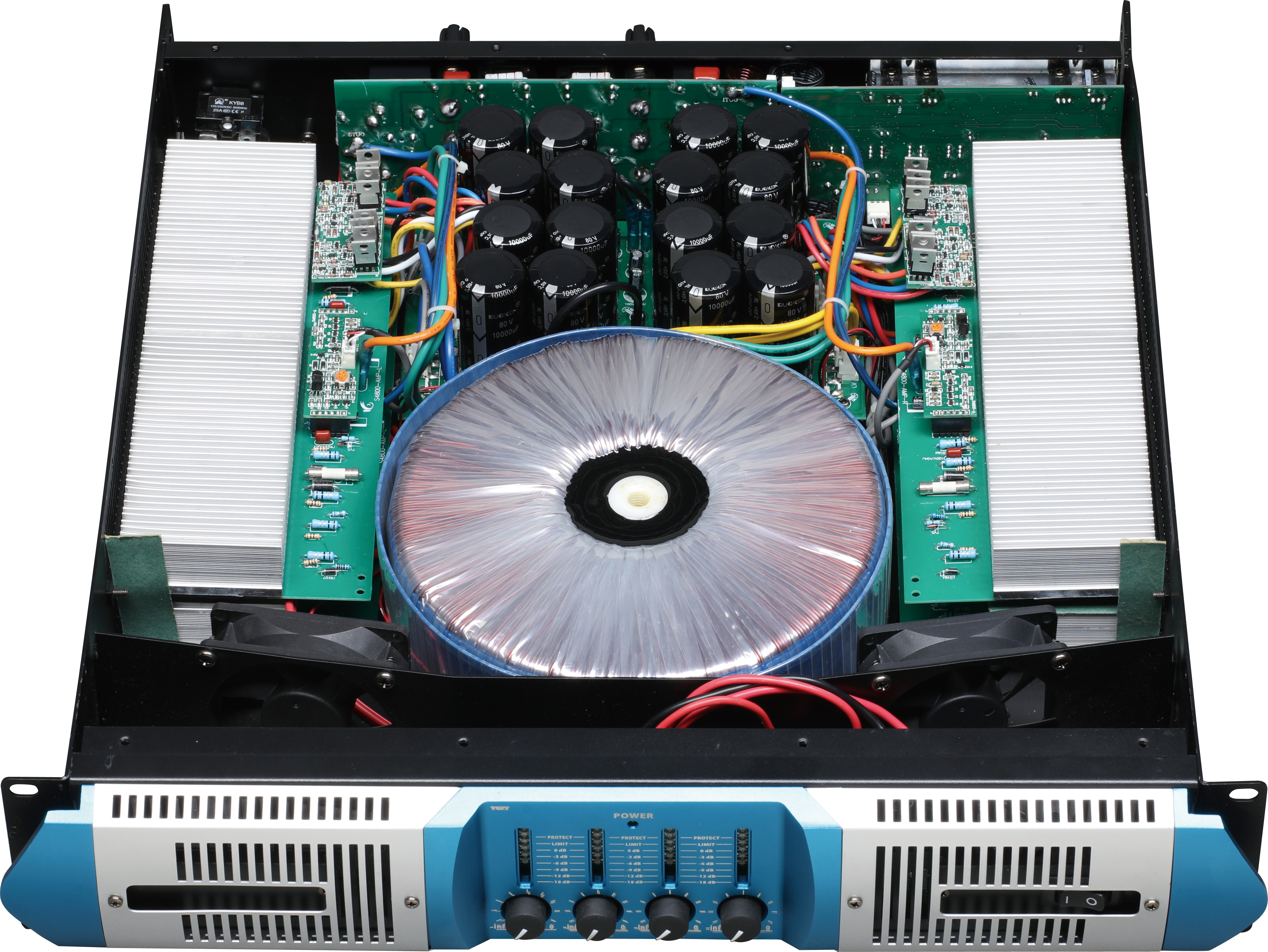 S4 series high end 4 channel power amplifier