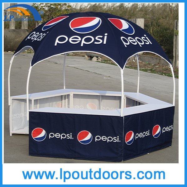 Dia3m Hot Sale Hexagon Dome Kiosk Tent for Promotions