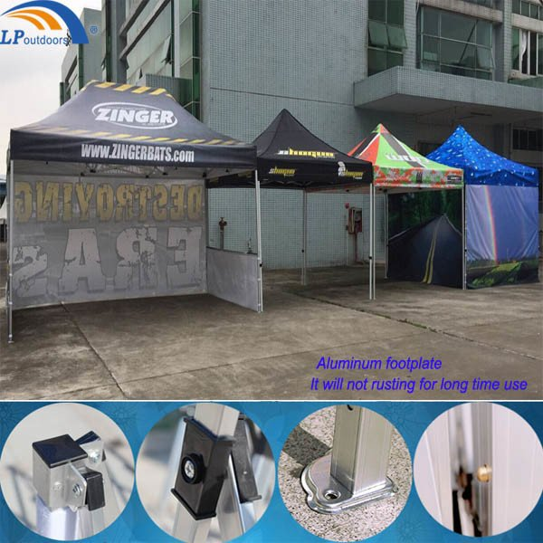 High Quality Aluminum Advertising Promotion Display Canopy Pop up Gazebo Tent