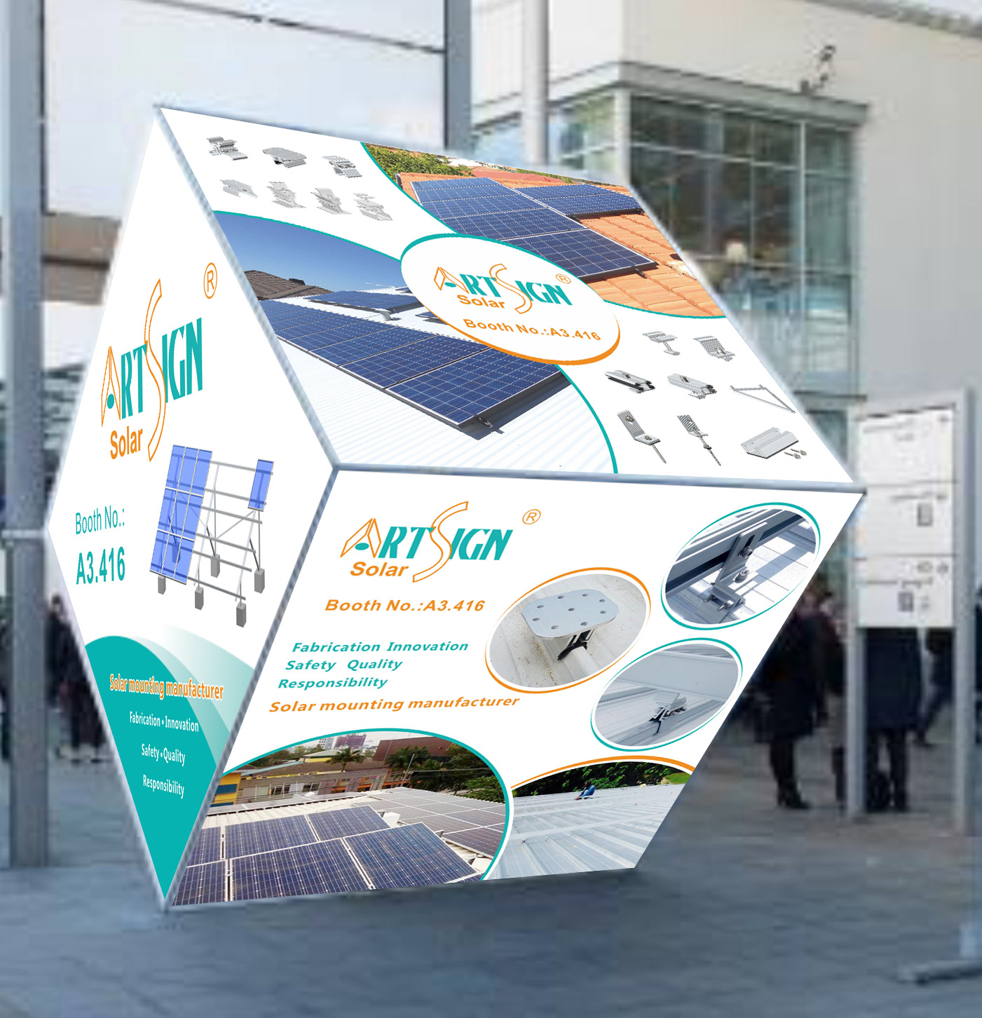 ART SIGN Welcomes you to join our Intersolar Europe 2018 on 20-22nd June