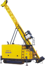 Fast Drilling Speed Hydraulic Crawler Surface, Rotary, Diamond Core Drilling Rig with 2000m Drilling Capacity for Exploration