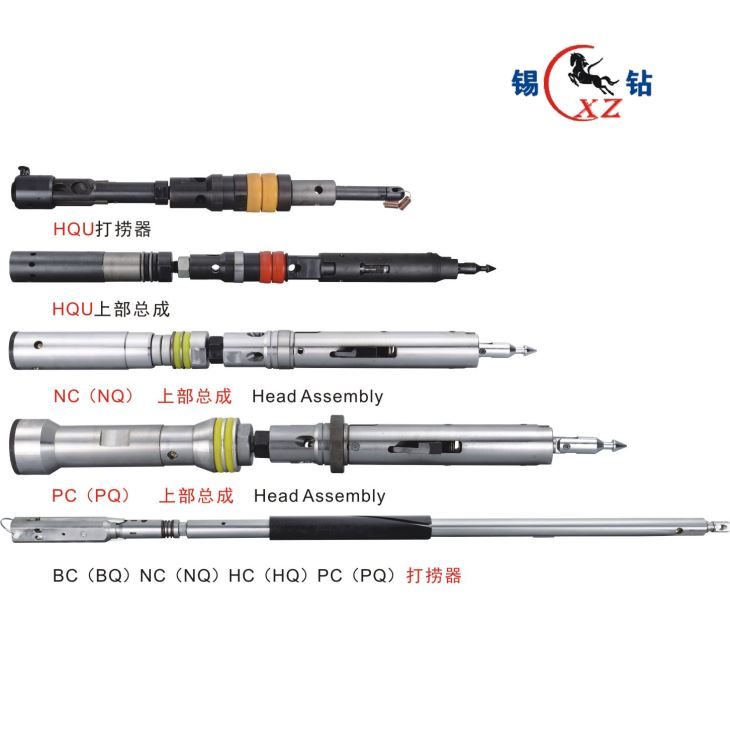 Prospecting Tool, Standard Wireline Double, Triple Tube, Diamond Bit Core Barrel of PQ/HQ/NQ/BQ