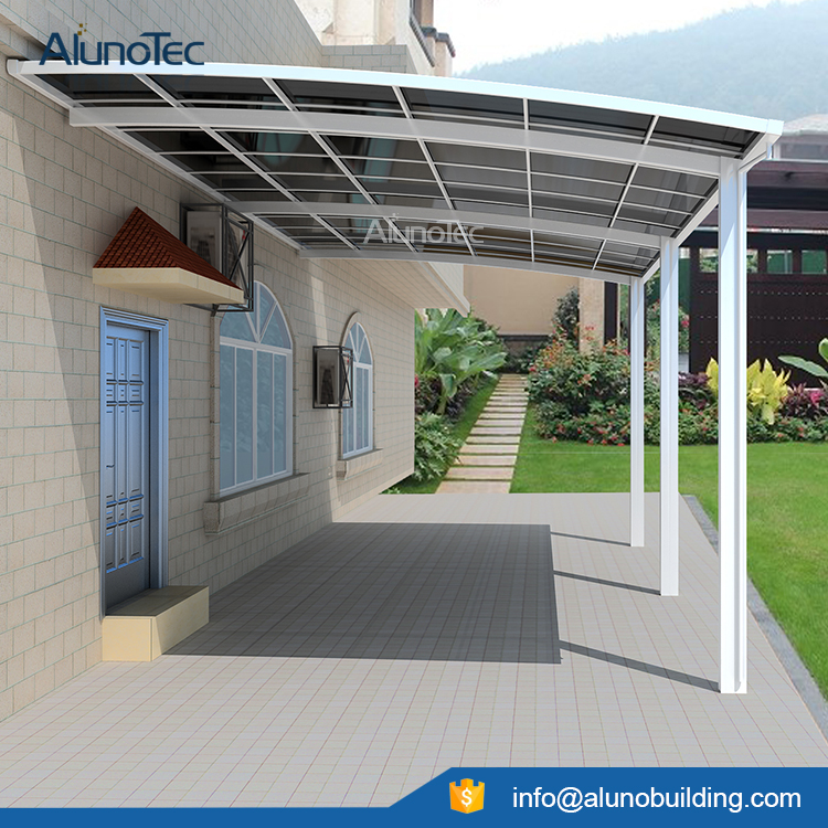 Aluminum Carport Polycarbonate Roofing - Buy Outdoor Carport Canopy Metal Carports Kits Polycarbonated Covers Product on AlunoTec & Aluminum Carport Polycarbonate Roofing - Buy Outdoor Carport ...