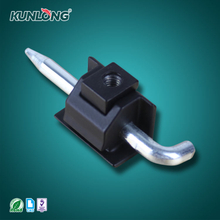 SK2-017 KUNLONG Panel Cabinet Die Casting Pin Type Detachable Door Black Hinge