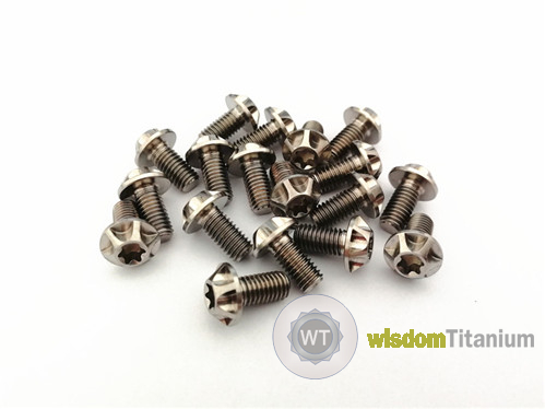 titanium motorcycle bolts 5mm