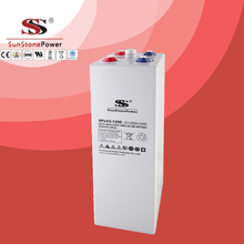 OPzV Battery 2V1200ah Long Life Deep Cycle Tubular Gel Solar Battery