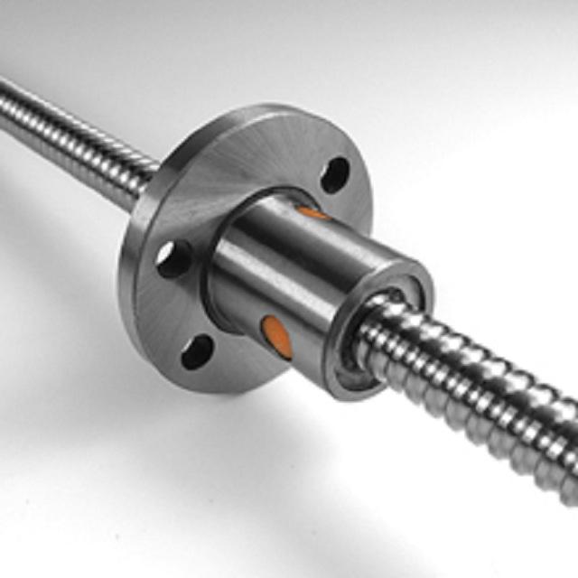 Diameter 10mm pitch 3mm left threaded hand ball screw 1003 with flange nut.jpg