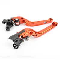 CNC Aluminum Motorcycle Brake Lever With Adjustment