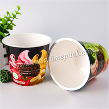 Take Away Personalized 200ml Disposable Plastic Paper Bowl