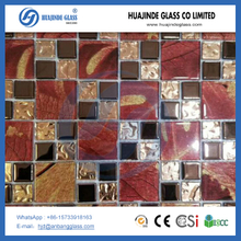 crystal glass tile mosiac ,decoration mosaic, cheap factory mosaic