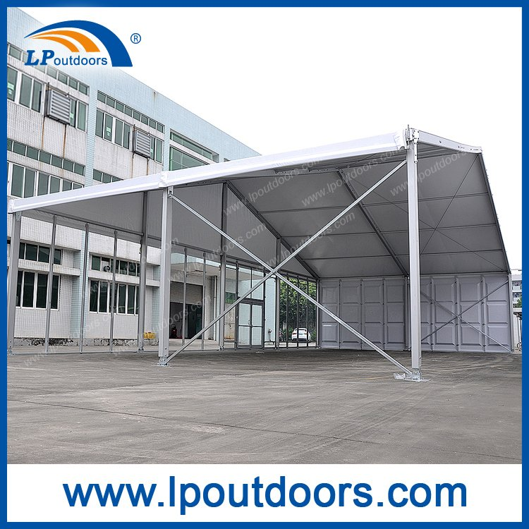 20m Clear Span Outdoor Large Marquee Event Tent with ABS and Glass Wall for Sale