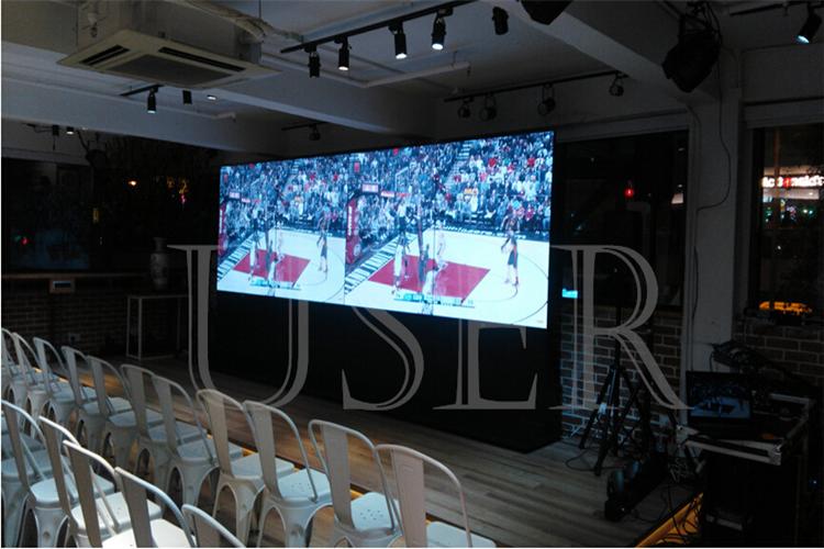 Hongkong reference room, 55inch lcd video wall, 2×4 a