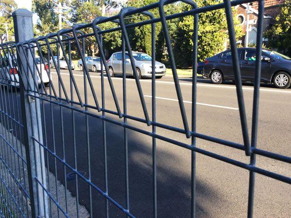 Galvanized Welded Wire Mesh Fence