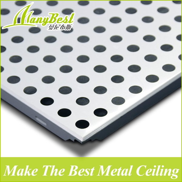 2018 Hotsales Square Metal Ceiling Perforated Aluminum Ceiling Board/Clip in Ceiling
