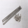 Gr5 titanium spoke 3.5mm/9g 4.0mm/8g spoke thread pitch of 2.2mm 3.0mm 4.0mm